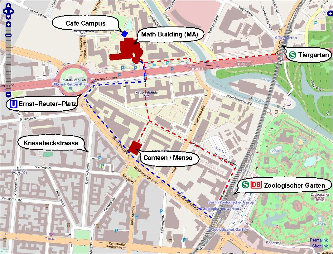 Tu Berlin Campusplan
